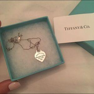 Tiffany & Co. Jewelry - Tiffany & Co. Heart Necklace [[ON HOLD]]