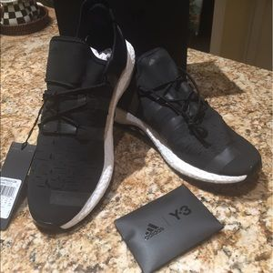 Y-3 Other - Y-3 by Adidas black tennis shoes