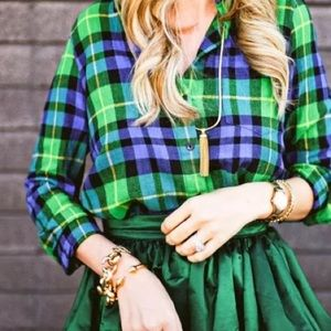 Madewell Tops - Madewell Flannel Boyshirt in Campbell Plaid