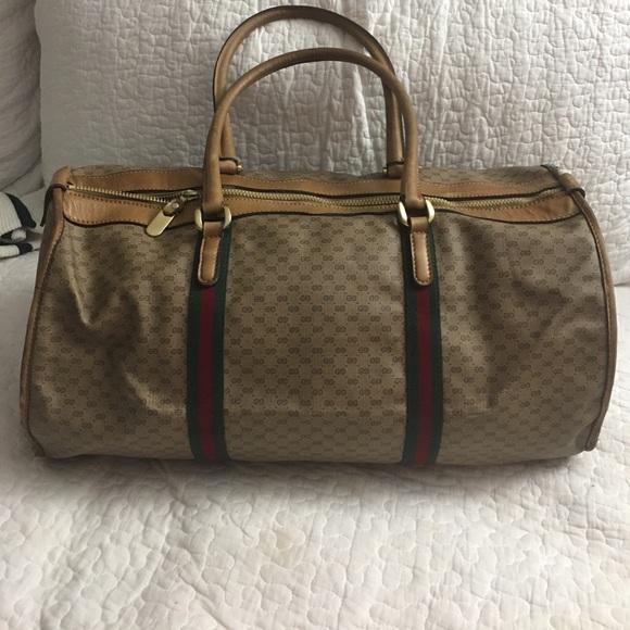 7fb22c11e7d Gucci Handbags - Authentic Vintage GUCCI Duffle Bag