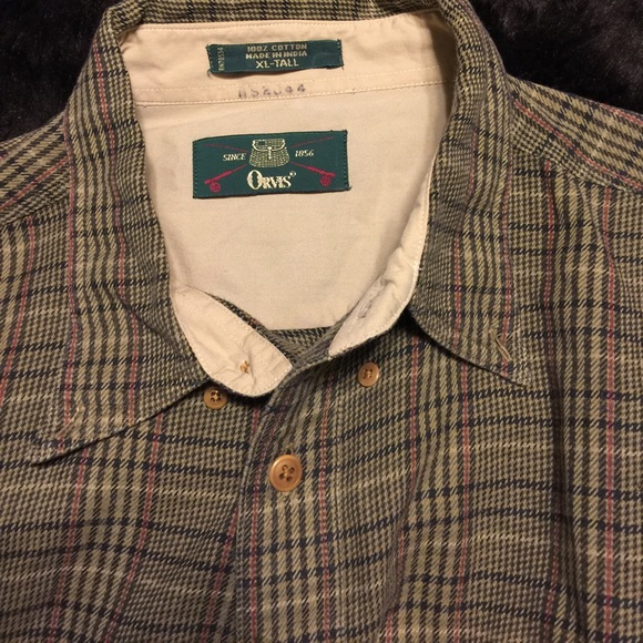 orvis orvis big tall xl cotton golf shirt from linda 39 s