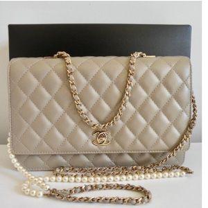 4a20d11a10ca CHANEL Bags | Lambskin Fantasy Pearls Large Flap Shoulder | Poshmark