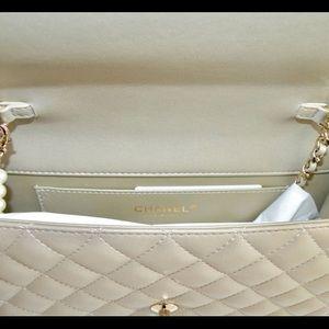 0794bfe91ce5f8 CHANEL Bags   Lambskin Fantasy Pearls Large Flap Shoulder   Poshmark