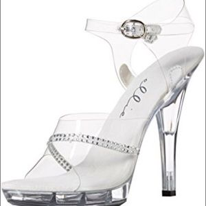 Ellie Clear heels