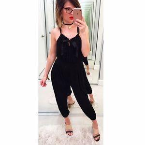 T-Bags Pants - ➡T Bags Black Jumpsuit⬅