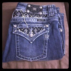 Miss Me Denim - Size 33 miss me studded jeans!!! Super cute/rare