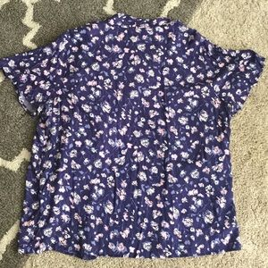 Tops - Floral Top w/ Attached Camisole