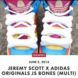 Jeremy Scott x Adidas Other - NWT Jeremy Scott x Adidas Bones rare. Brand new!