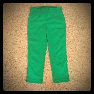 Attyre Pants - Green Ankle Pants