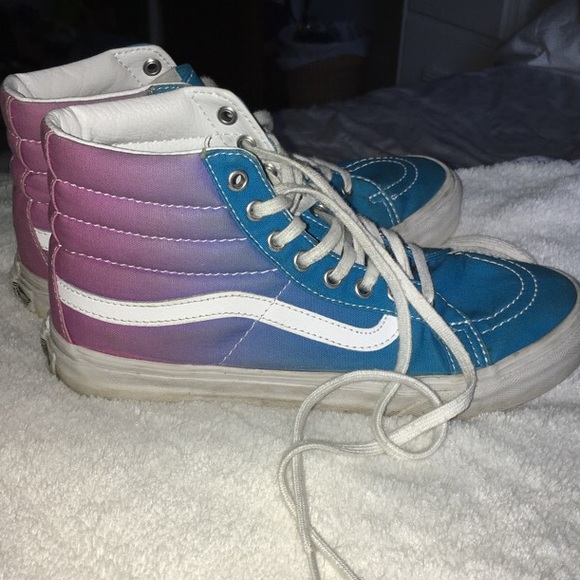 f29e29aafe Ombre Blue to Purple Pink Vans size 6. M 594527375c12f8cf04001521