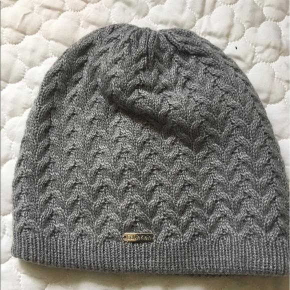 f18cf2882ef Calvin Klein Accessories - NWOT CK knitted beanie hat💥