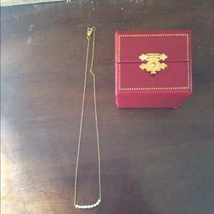 Jewelry - 10 karat gold pearl necklace for children