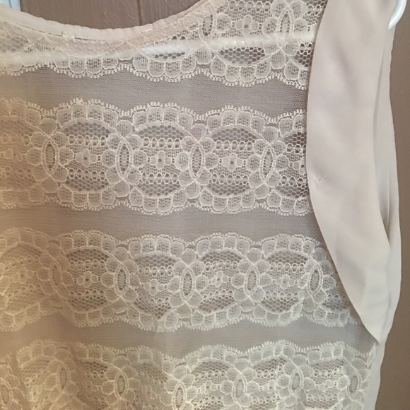 Zara Cream Lace Blouse 22