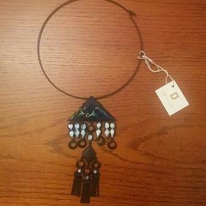 🆕Dannijo dramatic geometric necklace
