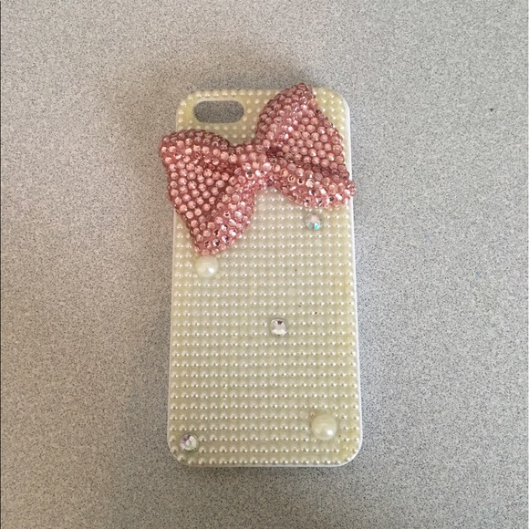 buy popular 4f099 968b4 Justice Accessories | Jeweled Phone Case For Iphone 5 | Poshmark