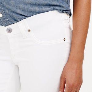 Denim - J.Crew maternity matchstick white jeans