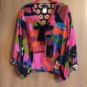 ❤️Vintage Carole Little jacket/top