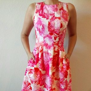 Jessica Howard Dresses & Skirts - Jessica Howard Fit and Flare Floral Dress Size 6
