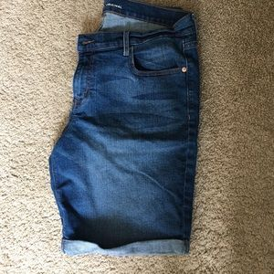 Old Navy Denim Cuffed Shorts Size 12