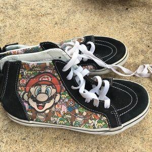 ae6a89977256 Vans Shoes - ⚡️FLASH SALE ⚡️Super Mario Vans - Size 3