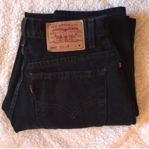 Urban Outfitters Denim - Black High Waisted Vintage Levi's