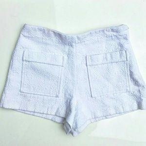 Zara TRF High Waisted Shorts