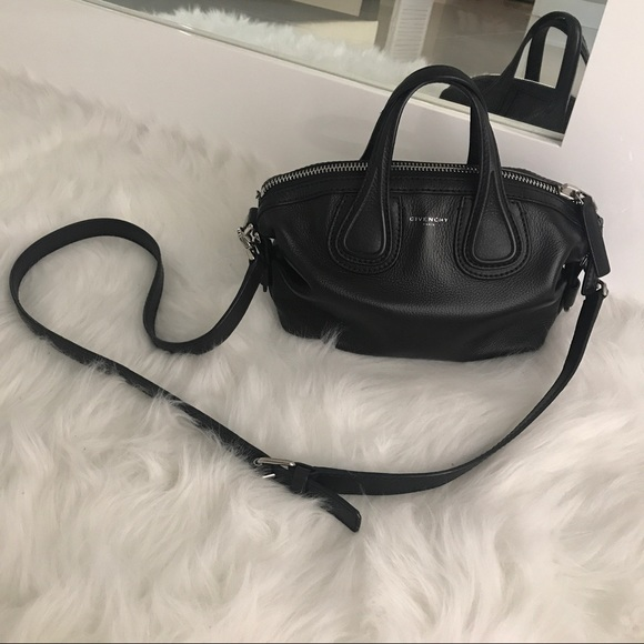 GIVENCHY Micro Nightingale Leather Satchel 29f19ea8ef135