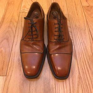 Magnanni Other - Magnanni cognac leather cap toe oxfords shoes