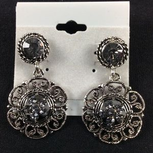 Jewelry - New Gray and Silver Antique Style earrings