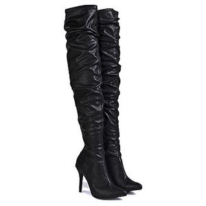 Anne Michelle Shoes - Anne Michelle Thigh High Boots