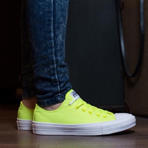 7544bd84d7fb Converse Chuck Taylor II OX Volt shoes women s