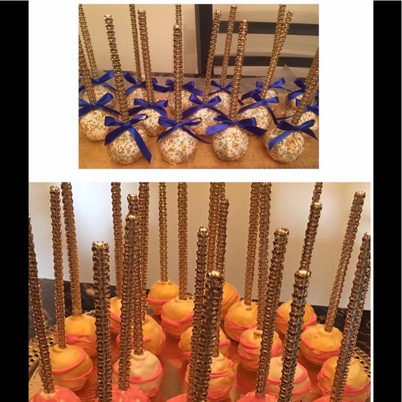 How to make bling cake pop sticks