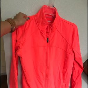 Jackets & Blazers - Bright coral/pink workout and running jacket