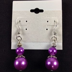 Jewelry - New Purple Dangle Earrings
