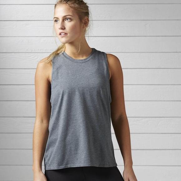 reebok womens muscle tank top