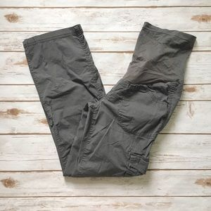Motherhood Maternity Dark Grey Cargo Pants
