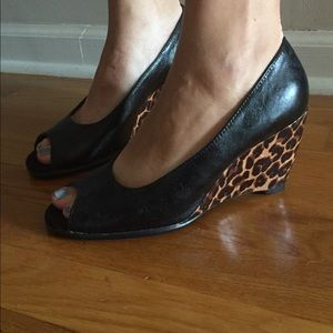 A2 By Aerosoles Shoes - Leopard print wedges
