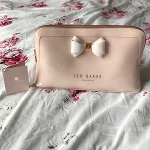 Ted Baker Curved Bow Wash Bag 