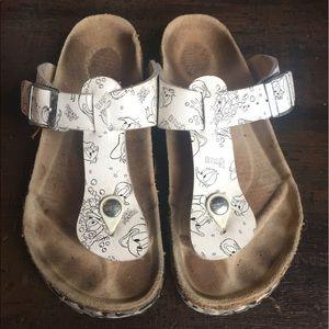 Birkenstock Shoes - Birkenstock RARE Tatami White Donald Duck Sandals