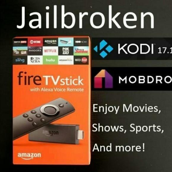 Amazon Firestick w/ KODI & MOBDRO Live TV