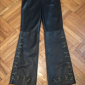 NWT Escada leather pants! $2585