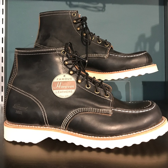 95f196e6b60 Thorogood Janesville Black Leather Boots Boutique