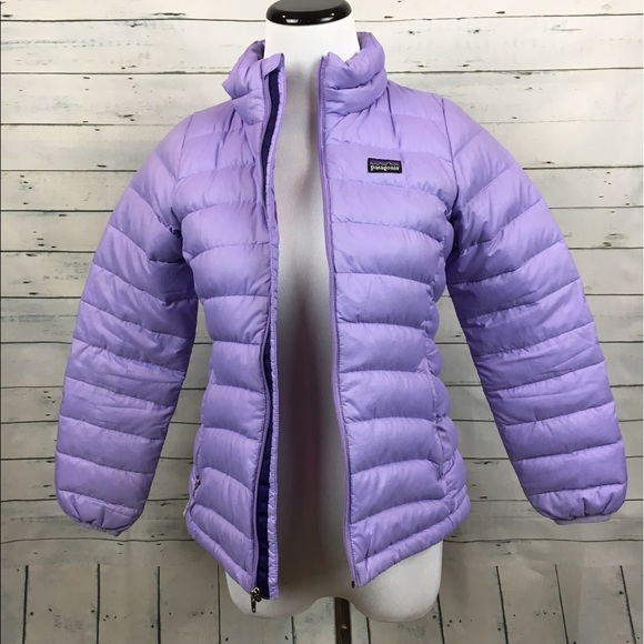 Patagonia Jackets Amp Coats Girls Purple Puffer Jacket Zip