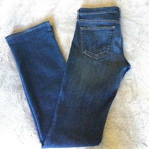 "AG ""Olivia"" Skinny Bootcut Jeans"