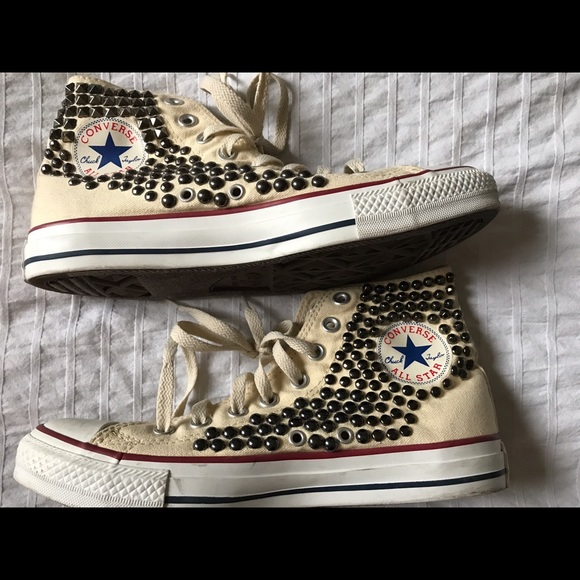 15fb207fa803 Converse Shoes - Converse Studded High stop sneakers unisex