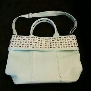 Handbags - Mint Colored Purse w/Gold Studs
