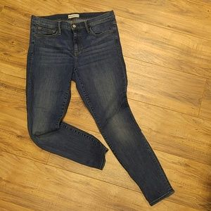 Gap 1969 size 32R true skinny jeans