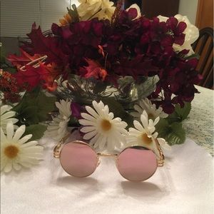 Boutique Accessories - Pink Mirrored Sunglasses NWT