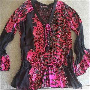 Hale Bob Silk blouse