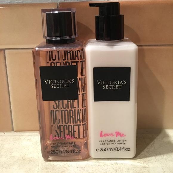 257df78936c Victoria s Secret Love Me Lotion and Fragrance. M 59456cd2c284560a25076f0e